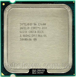 Процесор Intel Core 2 Duo E7600 2x3.06 GHz S775