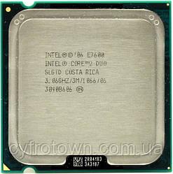 Процессор Intel Core 2 Duo E7600 2x3.06 GHz S775