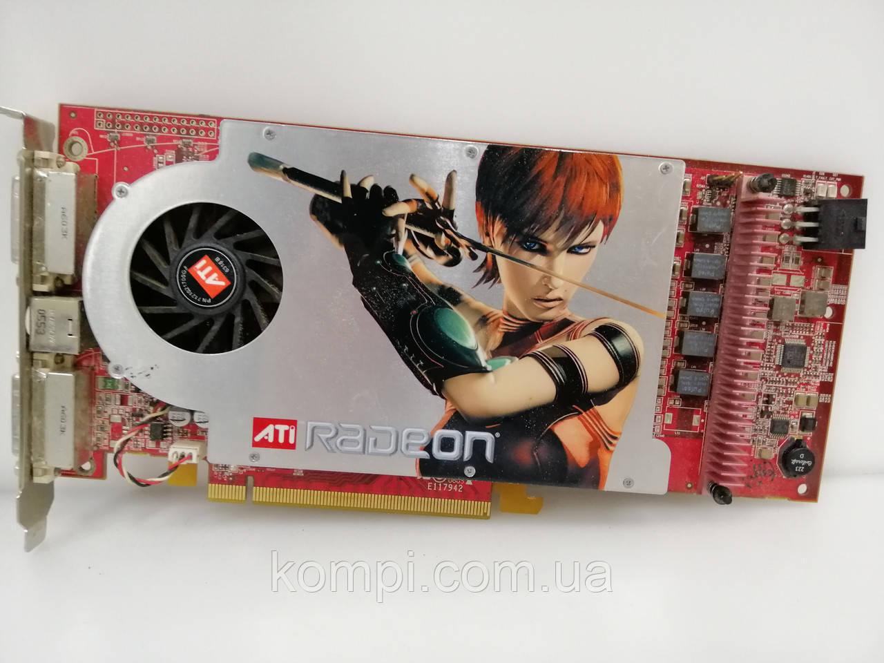 Видеокарта ATI RADEON X1800 GTO 256MB / 256 BIT PCI-E