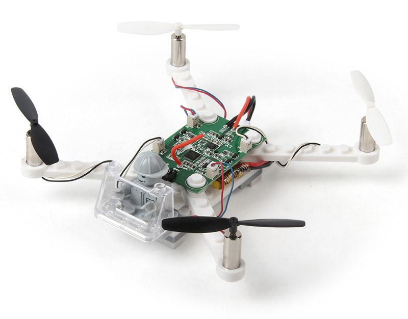 Конструктор радиоуправляемый квадрокоптер mini X-101 White