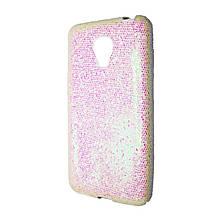 Силикон Glitter Meizu M2 Mini (белый)