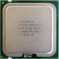 Процессор Intel Core 2 Duo e6600 2x2.4 GHz S775