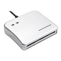 Сканер USB для чипованных смарткарт IC/ID Smart Card Reader, фото 1