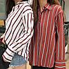 Женская рубашка из креп шифона,в расцветках. СК-0-0620, фото 2