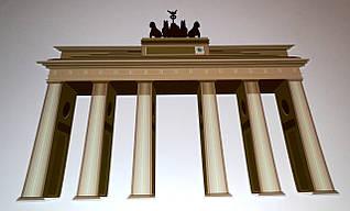 Бранденбургские ворота. Стенд для кабинета немецкого языка