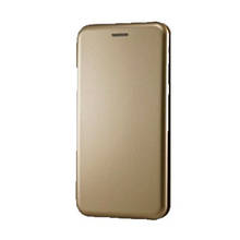 Чехол-книга iNavi Huawei Y6 (2018) / Y6 Prime / 7a Pro (золотой)