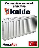 Стальной радиатор Kalde  боковое подключение 22k 300*2800