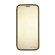 Чехол-книжка G-Case Ranger Series Samsung J7 (2017) J730 (Gold)