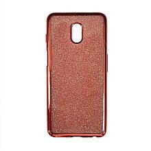Силикон Air Glitter Meizu M6s (Pink)