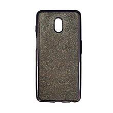 Силикон Air Glitter Meizu M6s (Black)