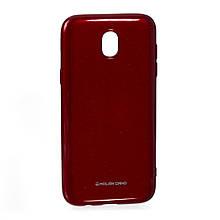 Силикон Molan Shining Samsung J5 (2017) J530 Красный