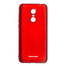 Силикон Molan Shining Xiaomi Redmi 5 Plus (красный)