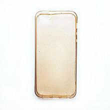 Силикон Super Slim iPhone 5 (золотой)