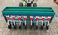 Зерновая сеялка 8-ми рядная с бачком для минудобрения