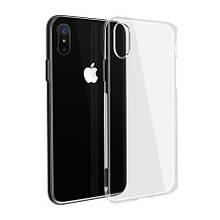 Силикон WS Apple iPhone XS Max (прозрачный)