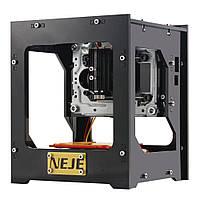 Портативный лазерный гравер резак NEJE DK-8-KZ 1000mW USB, фото 1