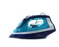 Утюг Domotec MS 2228 2200W керамическая подошва, Синий, фото 1
