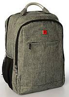 Городской рюкзак с USB 23L Pinao 8902 MK1984 Grey, фото 1