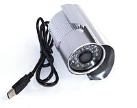 Цветная камера видеонаблюдения CCTV web-камера наружная на USB 569, фото 1