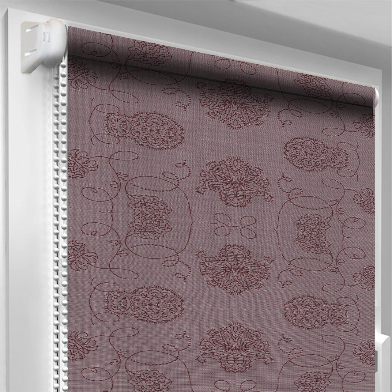 Рулонная штора DecoSharm Кинга 401 Фиолетовая