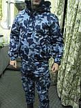 """Куртка утепленная """"Горка-Барс"""" для мобильных групп и охранных структур цвет украина, фото 4"""