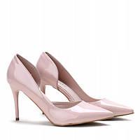 Летние туфли из лаковой кожи по доступной цене