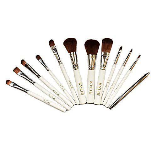 Профессиональный набор кистей для макияжа Kylie Jenner Make-up brush set 12 шт