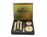 Набор Dermacol Make-up set тональный крем пудра румяна, фото 1