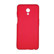Силикон Multicolor Meizu M6S (красный)