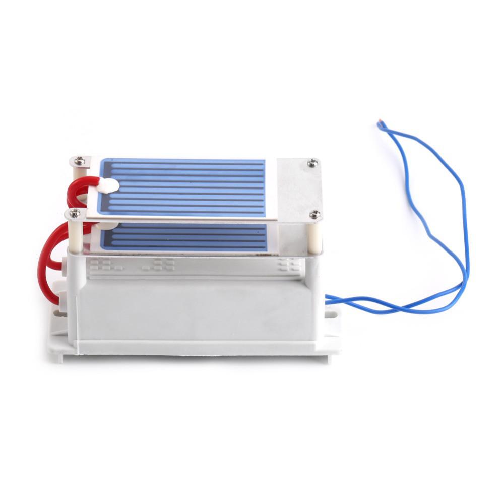 Портативный воздухоочиститель ионизатор генератор озона озонатор керамический 220В 7gc