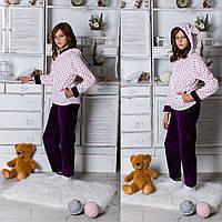 Подростковый домашний костюм-пижама с ушками Мини.Фиолетово-белый. 5024.2  ER. 690 UAH 6a055c3305527