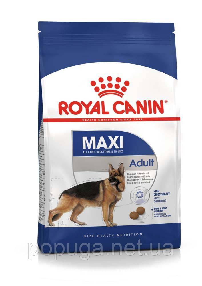 Royal Canin Maxi Adult корм для собак, 15 кг
