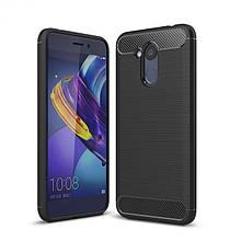 Силикон Polished Carbon Huawei Honor 6c (черный)
