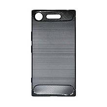 Силикон Polished Carbon Sony XZ 1 (Черный)