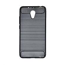 Силикон Polished Carbon Meizu M6 (Черный)