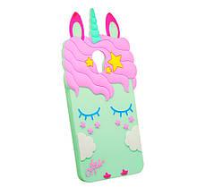 Силикон Little Pony Meizu M5c (Бирюзовый)