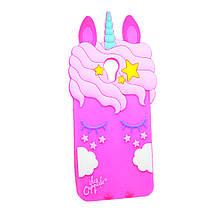 Силикон Little Pony Meizu M5c (Малиновый)