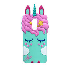 Силикон Little Pony Xiaomi Redmi 5 Plus (Бирюзовый)