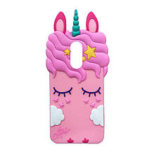 Силикон Little Pony Xiaomi Redmi 5 Plus (Розовый)