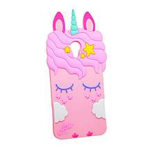 Силикон Little Pony Meizu M5c (Розовый)