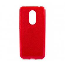 Силикон SHINE Xiaomi Redmi 5 Plus (красный)