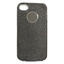 Силикон SHINE Apple iPhone 4 (черный)