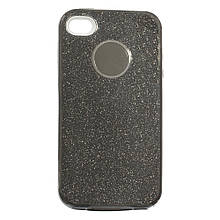 Силикон SHINE Apple iPhone 4 (черный)