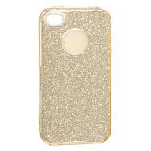 Силикон SHINE Apple iPhone 4 (золотой)