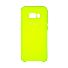 Силикон Original Case Samsung Galaxy S8 Plus (39) Lime