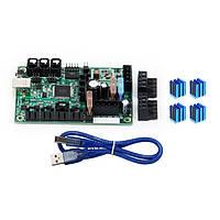 Mini-Rambo 1.3. Встроенная плата контроллера + 4 шт. Теплоотводы для 3D-принтера Prusa i3 MK2. - 1TopShop