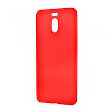 Силикон SMTT Meizu M6 Note (Красный)