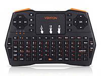 Товар имеет дефект! ЧИТАЙТЕ ОПИСАНИЕ! Беспроводная мини клавиатура Viboton i8 USB 2.0 2.4 ГГц  Уценка! №517 Уценка! Черный