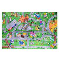 Игра «Правила дорожного движения» коврик A-Toys 019A-23P-25P в тубусе