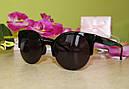Солнцезащитные очки женские 2016 (черные), фото 2